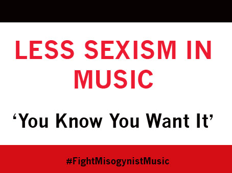 Sexist Lyrics Make Better Equality Slogans